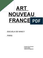 ART NOUVEAU FRANCES