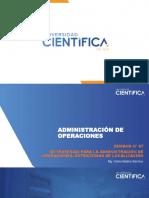 Semana 07 Administración de Operaciones 2020-1