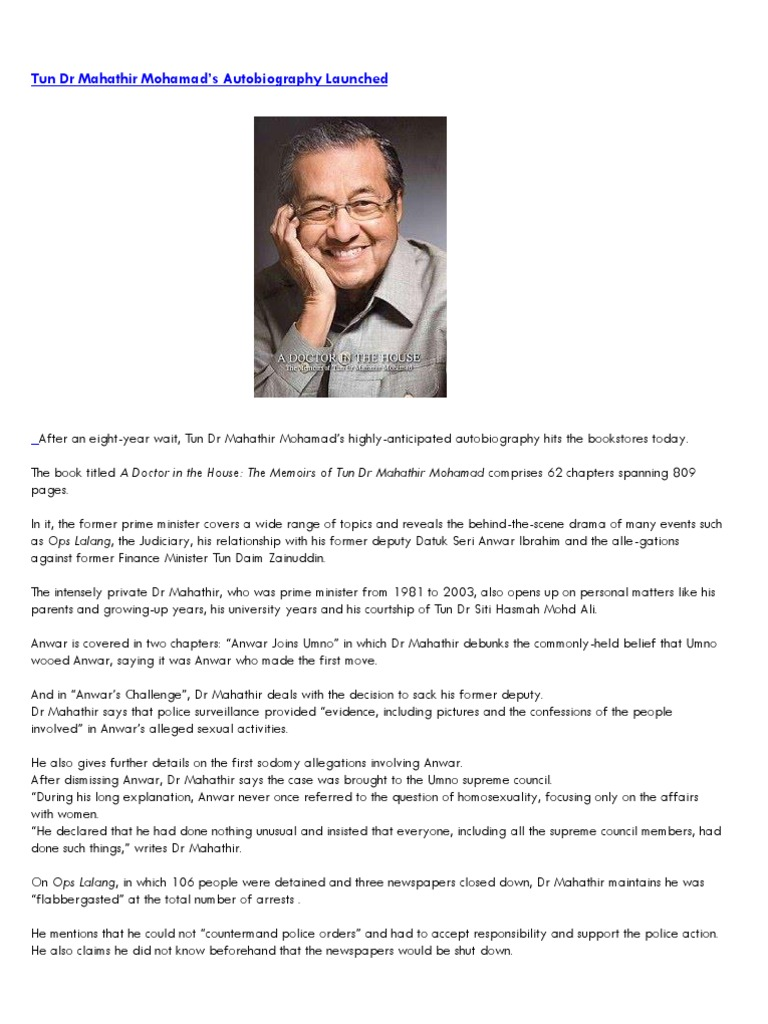 Ebook the house a mahathir doctor in