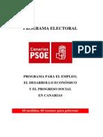 Programa Electoral PSOE Canarias 2011