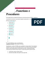 procedure e function