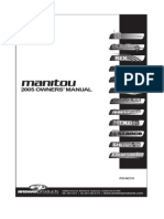 2005 Manitou Fork Service Manual