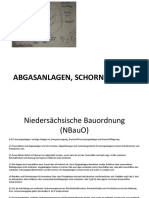 Schornstein, Heizung, Lüftung