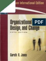 ORGANIZATIONAL DESIGN STRATEGY CHANGE