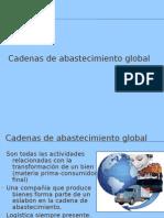 Cadenas de abastecimiento global