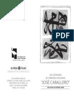 Base Certamen Grabado Jose Caballero 19