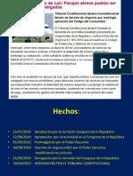 Inconstitucional del DECRETO DE URGENCIA