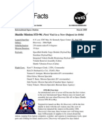 NASA Facts STS-96 First Visit to a New Outpost in Orbit
