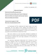 Comunicación Conjunta 10-21