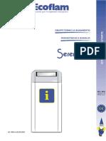 Ecoflam Serena Top manuale utente