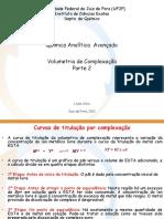 Aula 6PG Volumetria de Complexação 2S ParteII 2011 Versao Alunos