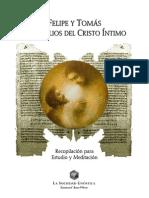 Felipe y Tomás Evangelios del Cristo Intimo