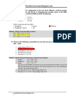 Answers to Items 21 to 40 of the Word Problems for the Part II of the Civil Service Professional Examination Reviewer