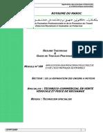 Module n09 Application Des Principes d Electricite Et de l Electronique Automob