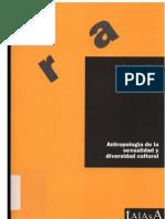 Antropología de la sexualidad y diversidad sexual-José Antonio Nieto
