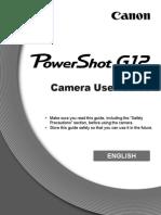 Manual Canon PowerShot G12