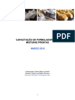 Apostila Capacitação de Formuladores de Misturas Prontas - Março 2016