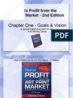 How to Profit From the Art Print Market - Chapter One - Goals and Vision - Download