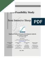 SMEDA Semi Intensive Sheep Farm