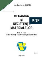 Mecanica si Rezistenta Materialelor (Curs)