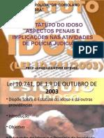 PALESTRA ESTATUTO DO IDOSO Power Point