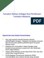 BAB 5 Tamadun Melayu Sebagai Asas Pembinaan Tamadun Malaysia