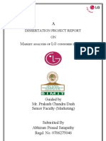 LG Marketing Project