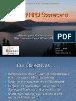 HRD Scorecard