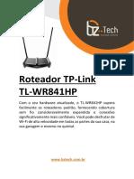 guia de instalacao tp-link-tl-wr841hp