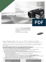 Samsung Camcorder HMX-H100N English User Manual