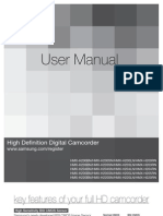 Samsung Camcorder HMX-H200N English User Manual