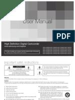 Samsung Camcorder HMX-H300N English User Manual