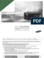 Samsung Camcorder HMX10 English User Manual
