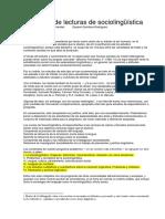 Domínguez-Selección de lecturas de sociolingüística