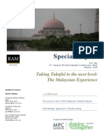 Special Report 6th World Takaful Conference