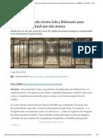 Bienal de São Paulo retrata Lula e Bolsonaro para pensar sobre o Brasil que não avança - 31_08_2021 - Ilustrada - Folha