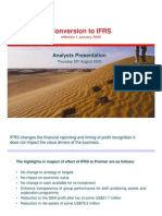 18651299 Analysts Presentation on Conversion to IFRS by Premier Oil August 25 2005