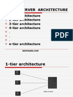 E-commerce Client Server Architecture