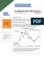 USD INR FORECAST- FY 11