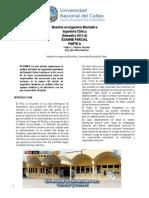 Examen Parcial de Ingenieria Clinica Ceferino Paredes Felipe y Silva Sánchez Roy