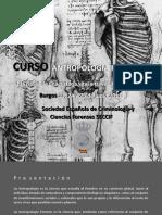 curso antropologia forense