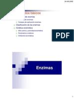 Clasifiacion de las Enzimas IUPAC