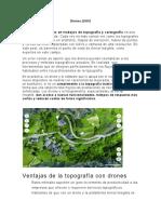 Drones Topografía