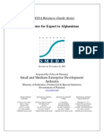 SMEDA Export to Afghanistan