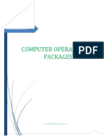 Computer Operations & Packages Notes Part 2