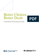 Better Choices Better Deals - Consumers Powering Growth