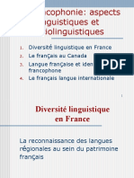 Diversite Linguistique en France