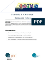 IPR4EE Scenario 3 -  Clearance Guidance Notes