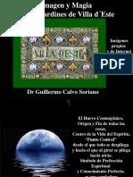 Imagen y Magia en los Jardines de Villa d´Este - Dr. Guillermo Calvo Soriano