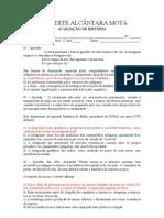 AVALIAÇÃO DE HISTÓRIA - 2º ANO